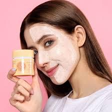 <b>Питательная маска для лица</b> с маслом какао и экстрактом миндаля