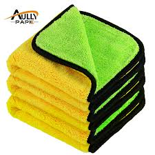 <b>3Pcs</b> 40cmx40cm Super Thick Plush Microfiber <b>Car Cleaning Cloths</b> ...