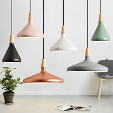 Modern Led <b>Pendant Lamp</b> Aluminum Lampshade <b>Nordic Round</b> ...