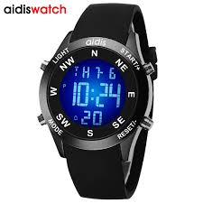 Different Backlight <b>Colors</b> Choose <b>Outdoor</b> Sports Led Watch ...