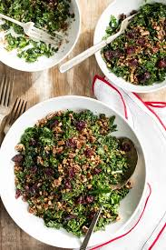 The Best Shredded Kale Salad – Oh She Glows