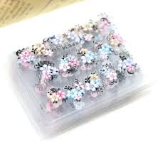 <b>30Sheets Nail</b> Stickers 3d Beauty Sticker for <b>Nails Colorful</b> Flowers ...