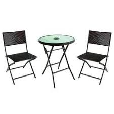 Brown <b>3</b>-<b>Piece Folding</b> Patio Bistro Set at Menards®