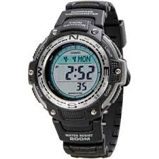 Casio <b>Men's</b> Digital Compass Twin <b>Sensor Sport Watch</b> - Black ...