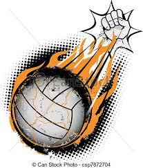 Resultado de imagen de voleibol dibujos
