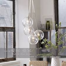 american cluster glass pendant transparent round ball glass personalized fashion vintage pendant light inpendant lights ceiling lighting kitchen contemporary pinterest lamps transparent