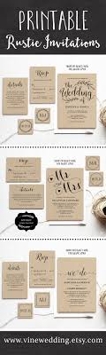 best ideas about wedding invitation wording beautiful rustic wedding invitations editable instant templates you can print as many as you