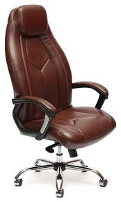 Купить Компьютерное <b>кресло TetChair</b> Босс люкс, обивка ...