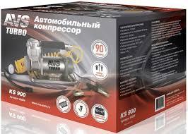 Компрессор автомобильный Turbo <b>AVS</b> KS 900 350Вт 12В 90л ...