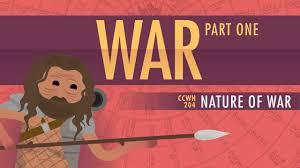 war human nature crash course world history