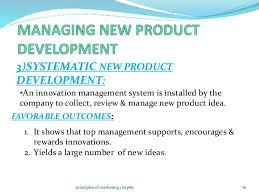 new product development and product life cycle strategies principles of marketing chap  systematic new product development