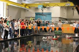 mech 2 students showcase remote controlled firefighting boats 4613