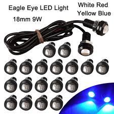 1pcs CarLED <b>12V 9W</b> 18mm Eagle Eye LED <b>Car</b> Motor DRL Backup ...