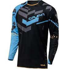 <b>2018</b> blue black <b>seven enduro</b> downhill team <b>jersey</b> fox cycling ...