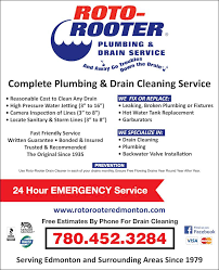 roto rooter plumbing drain service opening hours 12609 127th roto rooter plumbing drain service 7804523284 display ad your local