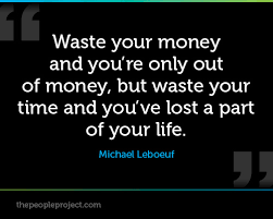 Supreme 8 memorable quotes about waste of time photo English ... via Relatably.com