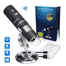 <b>Wireless</b> Digital Microscope, DINGUIER 50X to 1000X Magnification ...