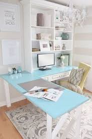 shabby chic small office google search chic mint teal office