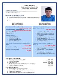formats of resumes formats for resume sample format architect gallery of formats of resume