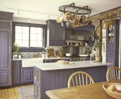 red retro kitchen counter