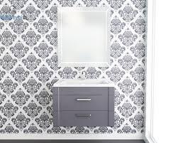 Комплект мебели <b>Andrea Granny</b> 700 подвесная серая эмаль, 2 ...