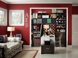 reach in closets home office contemporary with blue fabric bin bulletin bi fold doors home office