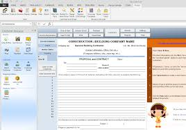 construction proposal template construction proposal template uis edition
