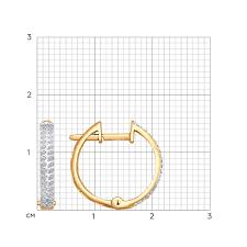 <b>Серьги кольца с бриллиантами</b> SOKOLOV – купить в ...