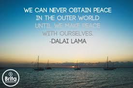Quotes About Internal Peace. QuotesGram via Relatably.com