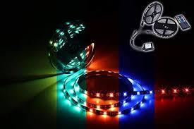 Miheal <b>Led</b> Strip Lights Kit 65.6ft(<b>20M</b>) <b>5050 SMD RGB</b> Flexible <b>LED</b> ...