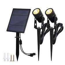 2W Solar Spotlights,<b>T</b>-<b>SUNRISE</b> IP65 Waterproof Outdoor Solar ...