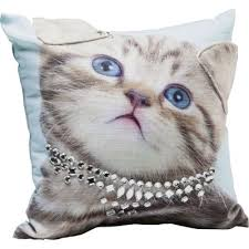 <b>Подушка Lady Cat</b> 45x45cm 39110 в Киеве купить kare-design ...