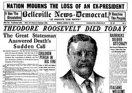 Image result for teddy roosevelt assassination attempt