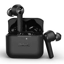 wireless bluetooth earbuds tws sweatproof sports beadset bass earphones with charging box