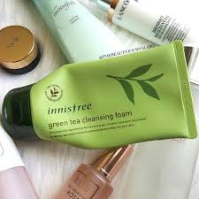<b>Innisfree</b> Green Tea Cleansing Foam - My Current Daytime <b>Skincare</b> ...