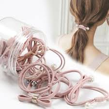 <b>12Pcs Cute</b> Kids Girl Elastic <b>Rope Hair</b> Ties Ponytail Holder <b>Head</b> ...