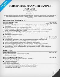 Pinterest     The world     s catalog of ideas Purchasing  Manager Resume  resumecompanion com