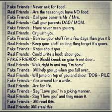 Fake friends vs real friends | Funny Dirty Adult Jokes, Memes ... via Relatably.com
