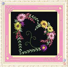 Chinese <b>Needlework DIY Ribbon Cross stitch</b> Sets for Embroidery ...
