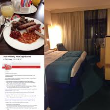 crp pre screen interview emas disney crp adventure interview day i met amy for breakfast and thoroughly enjoyed my sausages beans mushrooms and toast i then checked my bag into concierge and waited for