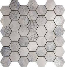<b>Absolut</b> Ceramica Mosaico Troya Hexagon 30x30, керамогранит ...