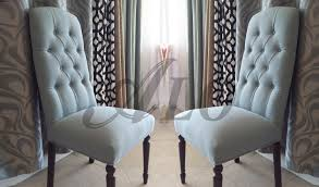 Reupholstering Dining Room Chairs Diy How To Reupholster A Dining Room Chair With Buttons Alo