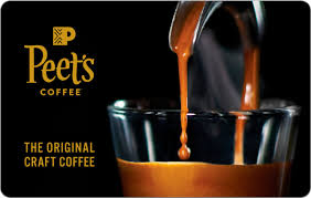 Peet's Coffee $25 Gift Card PEET'S COFFEE & TEA $25 - Best Buy