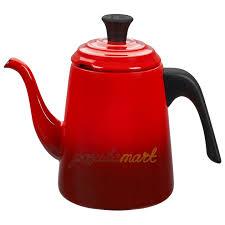 Стальной <b>эмалированный заварочный</b> пуровер-<b>чайник</b> Drip 700 ...