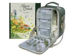 Купить <b>набор</b> для пикника <b>Camping World River Lunch</b>, зеленый ...