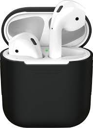 <b>Чехол Deppa для</b> AirPods, Black — купить в интернет-магазине ...