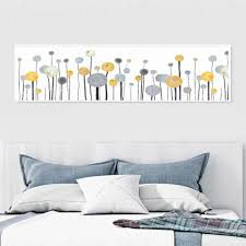 <b>NUOMEGE Nordic</b> Abstract Dandelion Wall Art Picture For Home ...