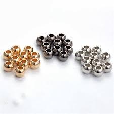 <b>100pcs</b>/<b>lot</b> Outer Dia 4mm,6mm,<b>8mm</b>,10mm,12mm Gold/Rhodium ...