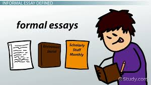 formal essay definition examples video lesson transcript informal essay definition format examples