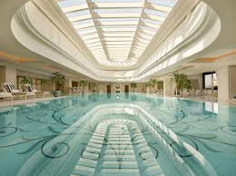 amazing indoor swimming pool design ideas huz name luxury grand with glass dome and pattren bottom amazing indoor pool lighting